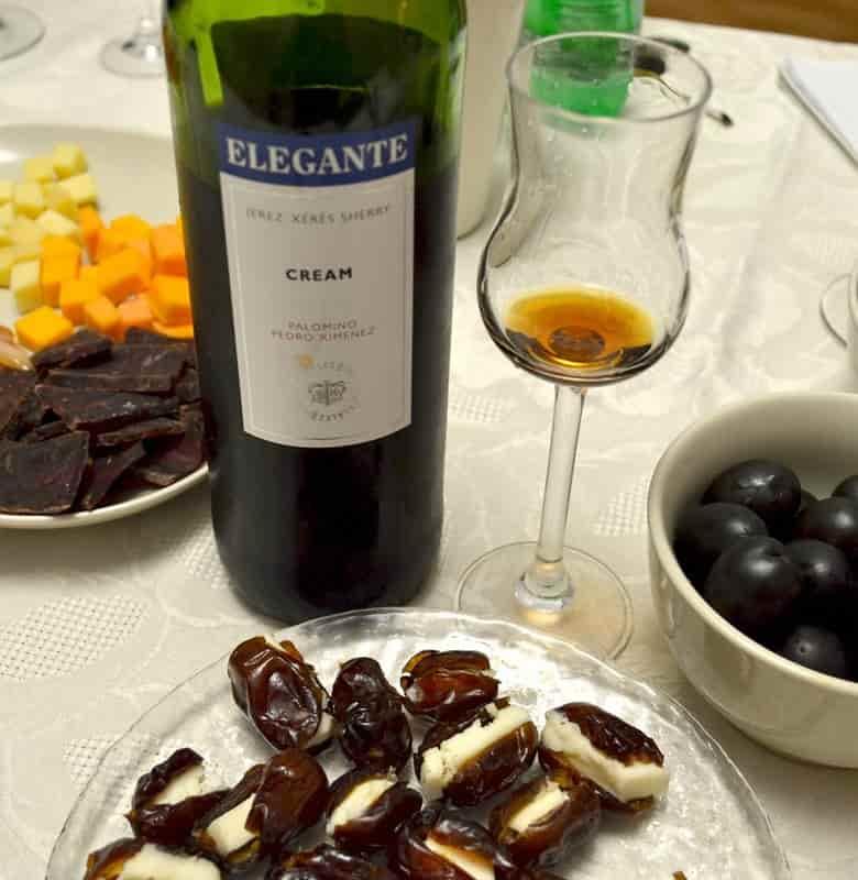 Дегустация испанского сладкого десертного хереса Элегант Крим