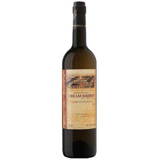 Купить Jerez Diasc Baco Cream Sherry сладкое белое испанское креплёное вино Херес Диос Бако Крим Шерри