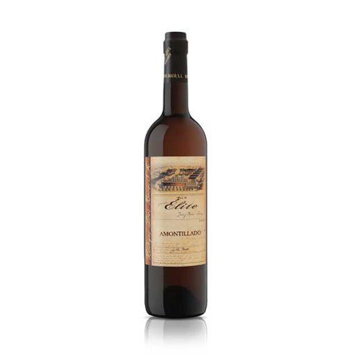 Купить Jerez Dias Baco Amontillado de Elite полусухое белое креплёное испанское вино Херес Диос Бако Амонтильядо де Элит, доступная цена, доставка Украина