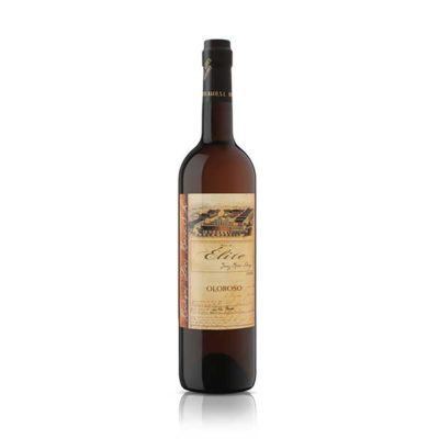 Купить Jerez Dias Baco Olorosode de Elite полусухое белое испанское креплёное вино Херес Диос Бако Олоросо де Элит