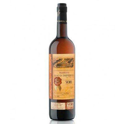 Купить Jerez Diоs Baco Oloroso Baco Imperial VORS сладкое белое испанское креплёное вино Херес Диос Бако Олоросо Бако Империал ВОРС