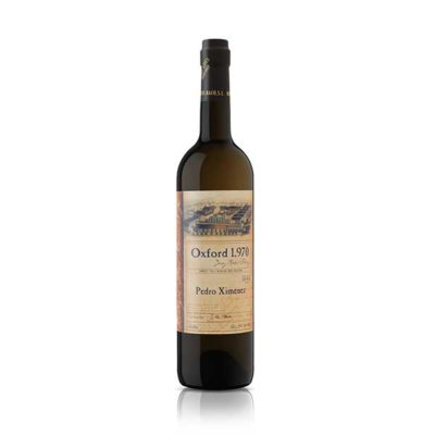 Купить Jerez Dias Baco Pedro Ximenez Oxford 1970 сладкое белое испанское креплёное вино Херес Диос Бако Педро Хименес Оксфорд 1970