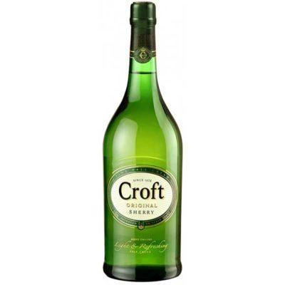 Купить Jerez Croft белое испанское креплёное вино Херес Крофт, доступная цена,